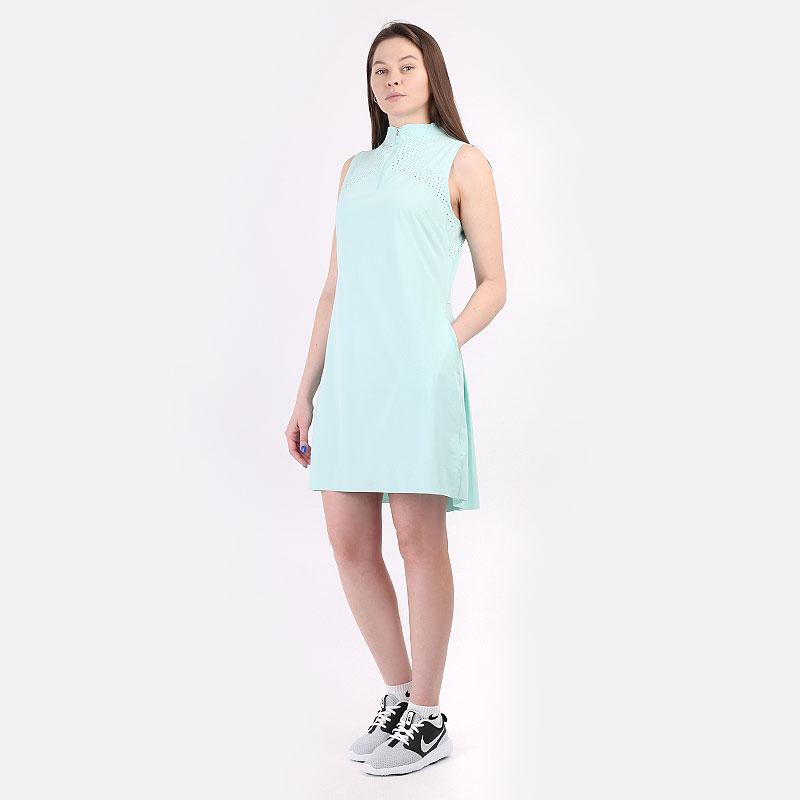 женский голубой  платье nike golf dress DC0354-382 - цена, описание, фото 1