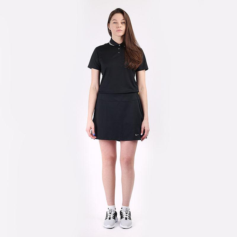 женскую черную  юбка nike dri-fit uv victory women's golf skirt CU9657-010 - цена, описание, фото 7