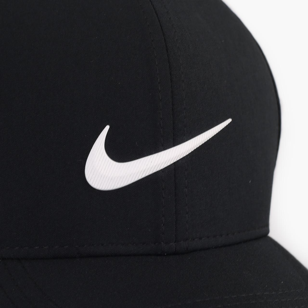 мужскую черную  кепка nike golf aerobill classic99 perforated cap BV1073-010 - цена, описание, фото 3