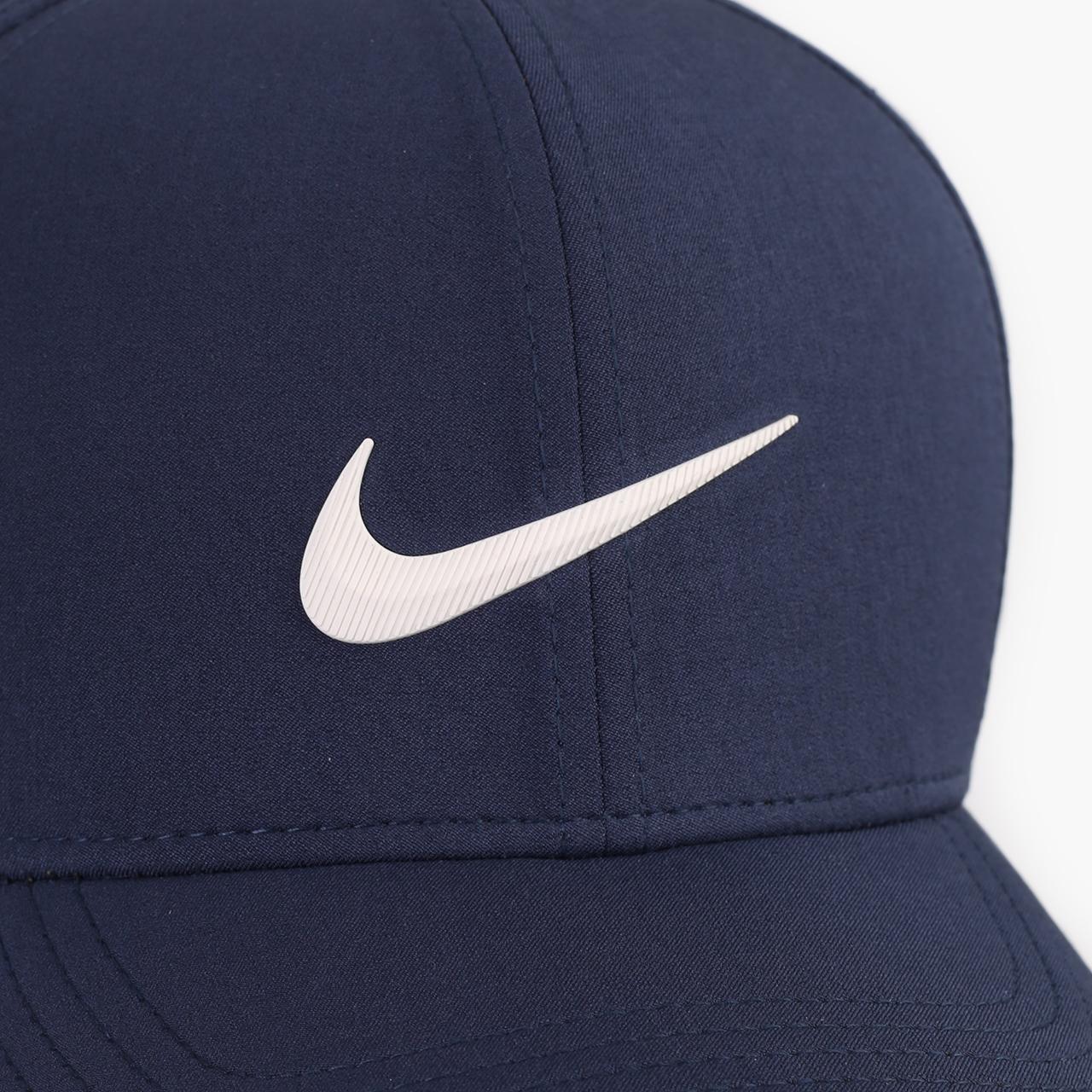 синюю  кепка nike golf aerobill classic99 perforated cap BV1073-451 - цена, описание, фото 3