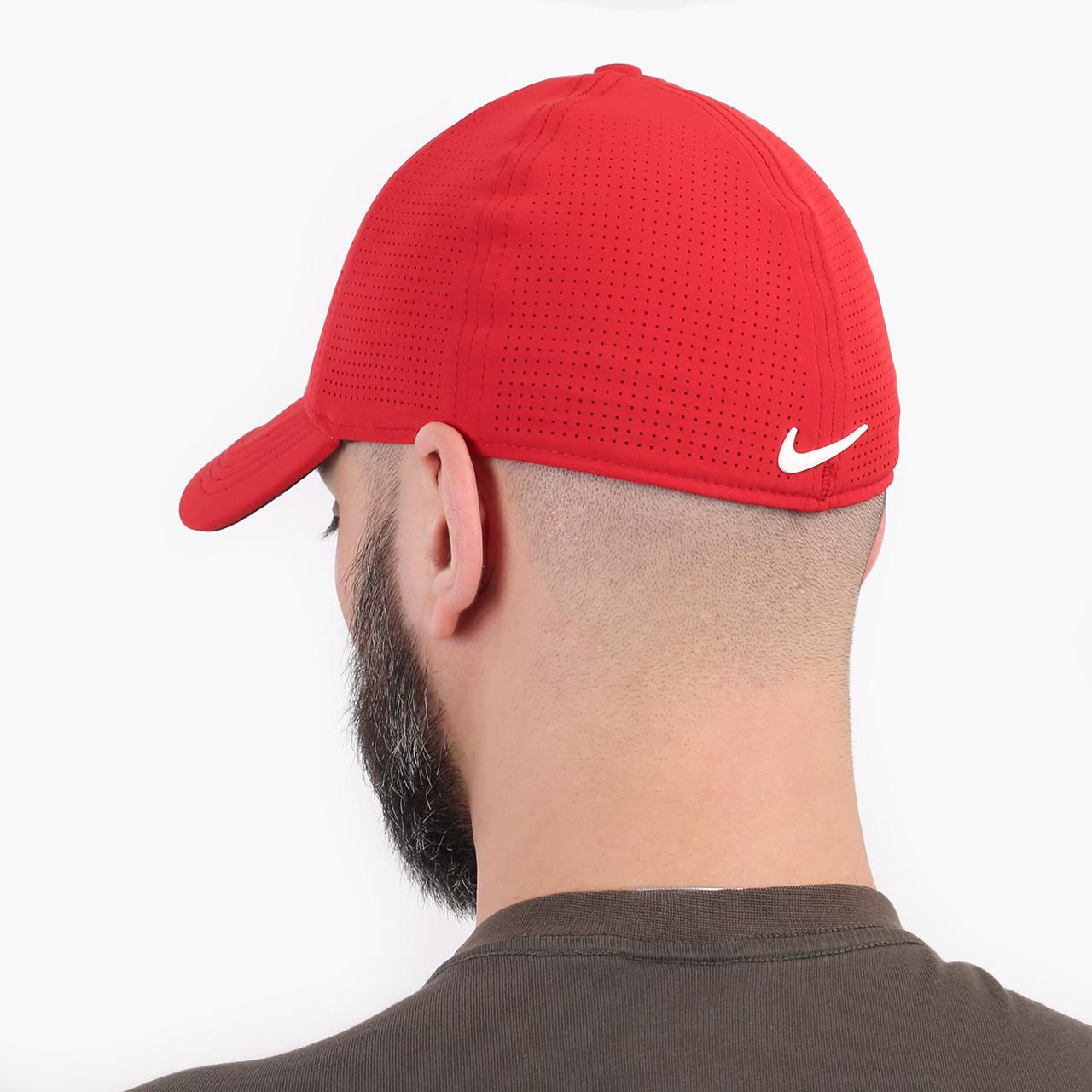 красную  кепка nike aerobill tiger woods heritage86 perforated cap CW6792-687 - цена, описание, фото 2