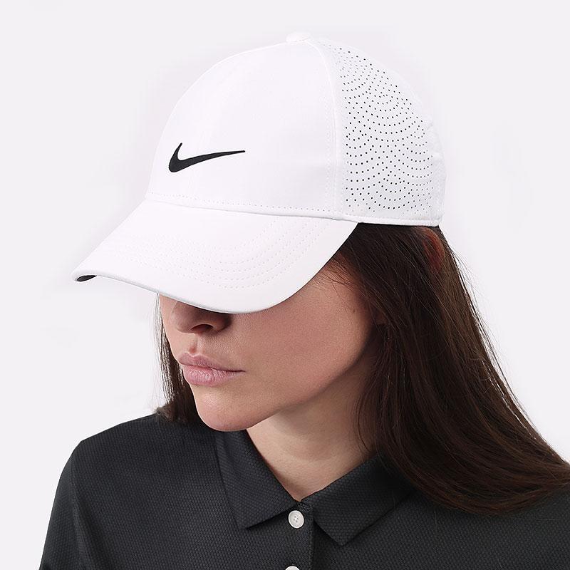 женскую белую  кепка nike aerobill heritage86 cap  BV1079-100 - цена, описание, фото 1