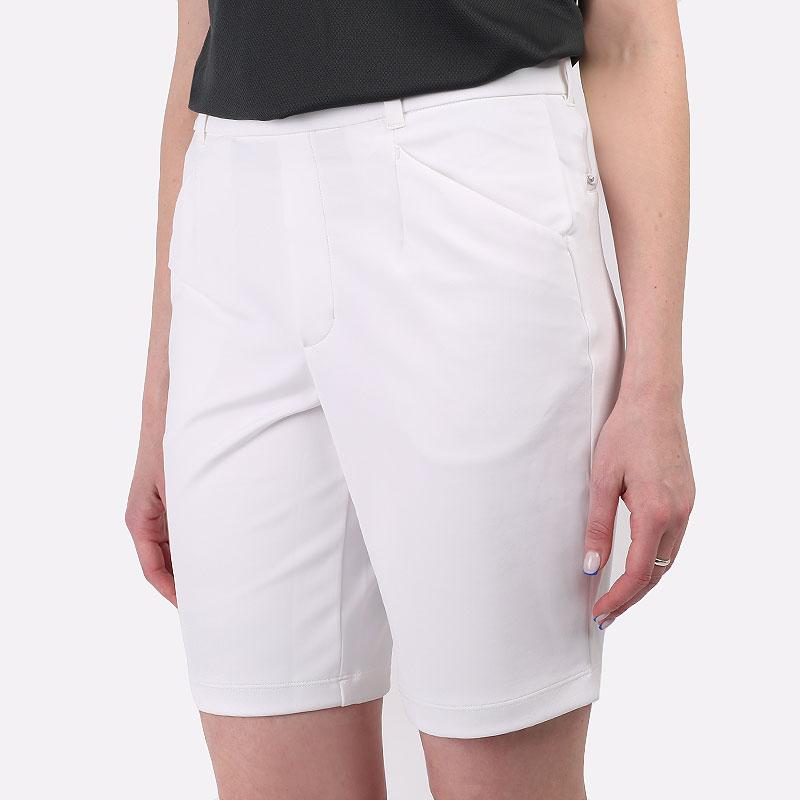 женские белые  шорты  nike dri-fit uv ace women's golf shorts CU9399-100 - цена, описание, фото 1