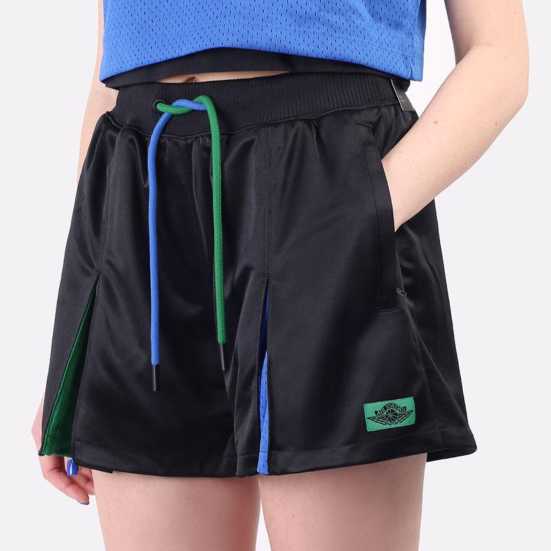 женские черные шорты  Jordan x Aleali May Short DC2432-010 - цена, описание, фото 1