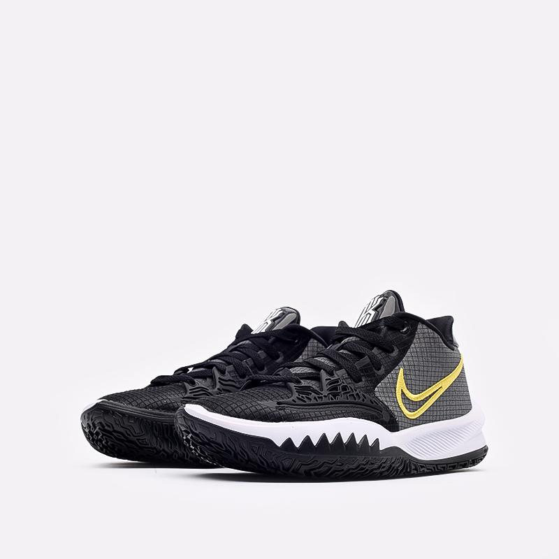мужские чёрные  кроссовки nike kyrie low 4 CW3985-001 - цена, описание, фото 2