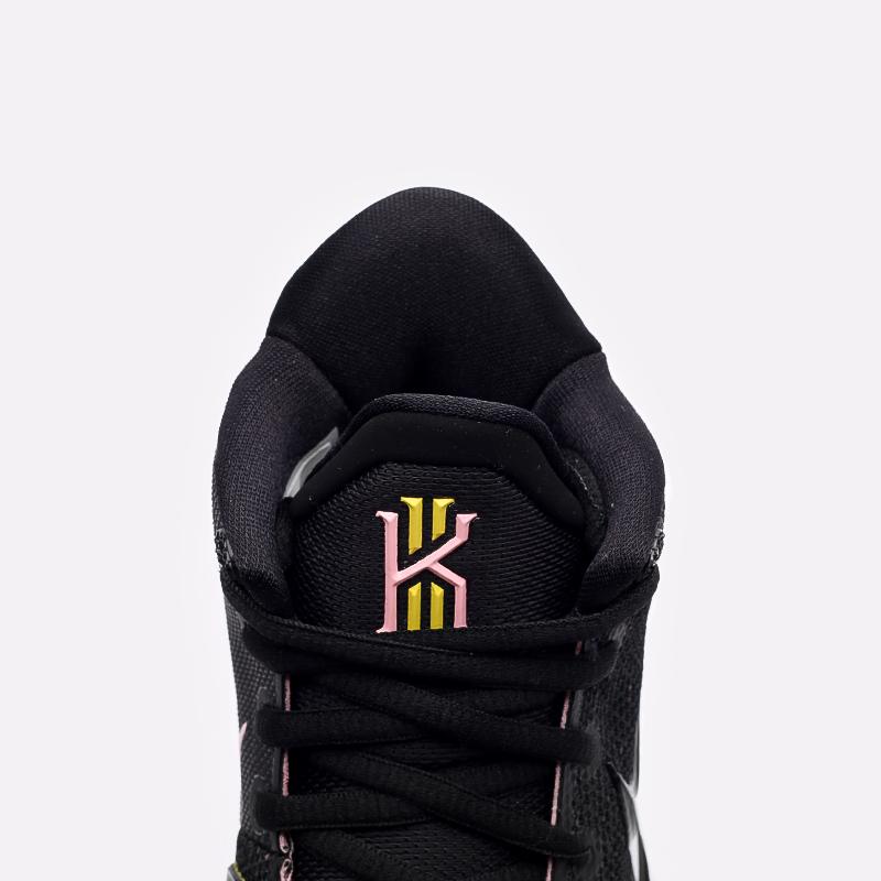 мужские чёрные  кроссовки nike kyrie 7 CQ9326-005 - цена, описание, фото 5