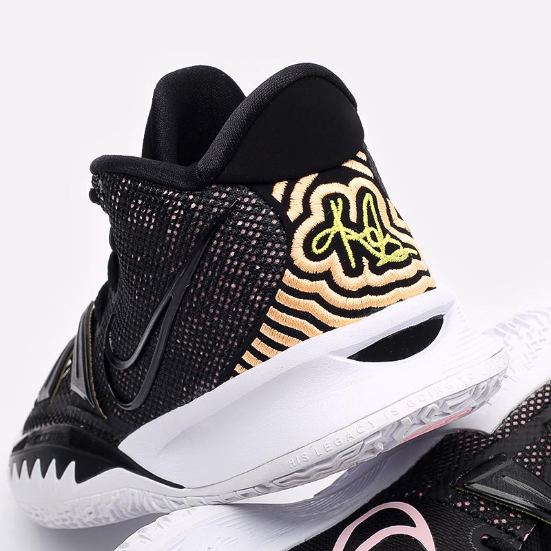 мужские чёрные  кроссовки nike kyrie 7 CQ9326-005 - цена, описание, фото 6