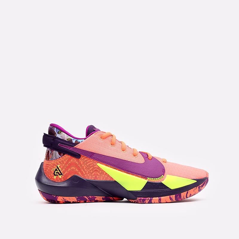 мужские оранжевые  кроссовки nike zoom freak 2 CW3162-800 - цена, описание, фото 1