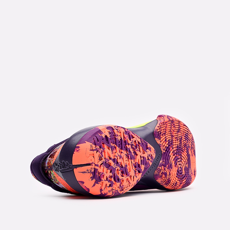 мужские оранжевые  кроссовки nike zoom freak 2 CW3162-800 - цена, описание, фото 4