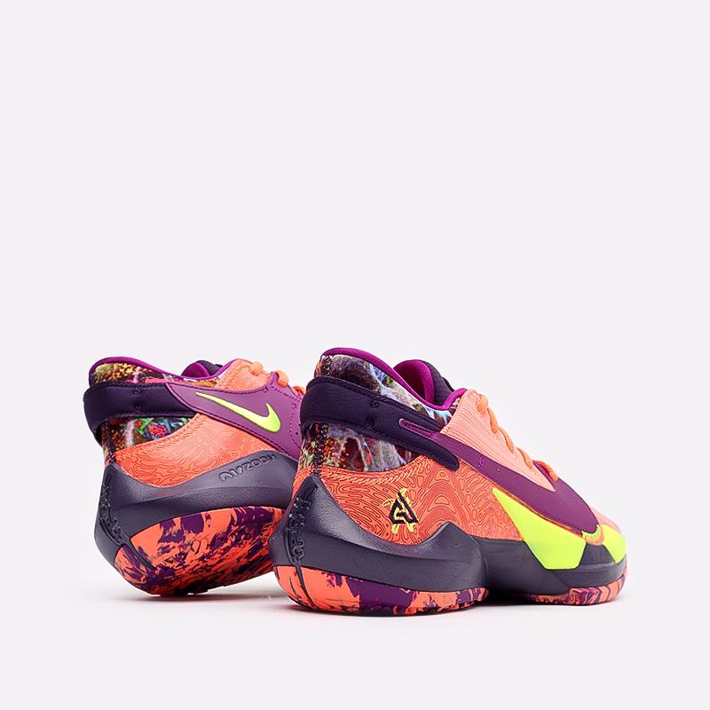 мужские оранжевые  кроссовки nike zoom freak 2 CW3162-800 - цена, описание, фото 3