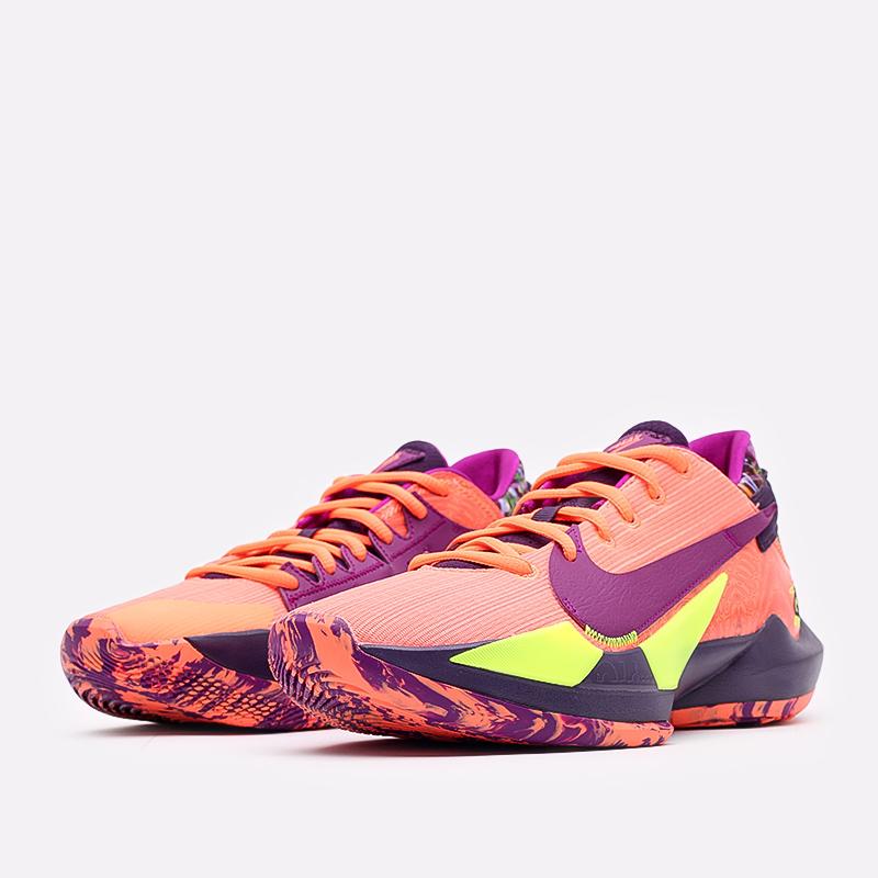 мужские оранжевые  кроссовки nike zoom freak 2 CW3162-800 - цена, описание, фото 2