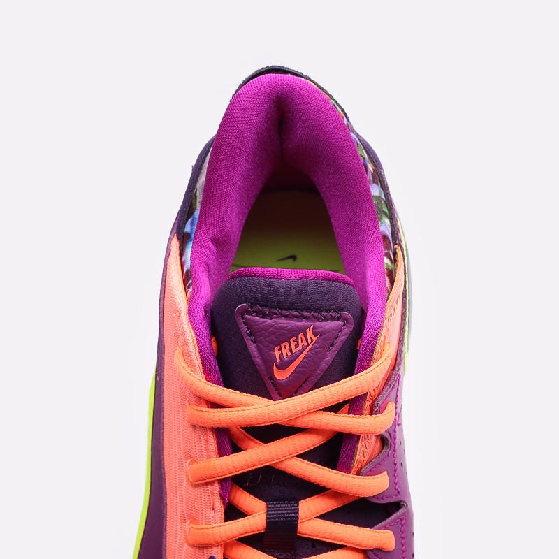 мужские оранжевые  кроссовки nike zoom freak 2 CW3162-800 - цена, описание, фото 5