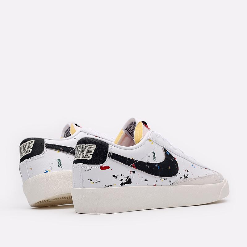 мужские белые  кроссовки nike blazer low '77 DJ1517-100 - цена, описание, фото 4