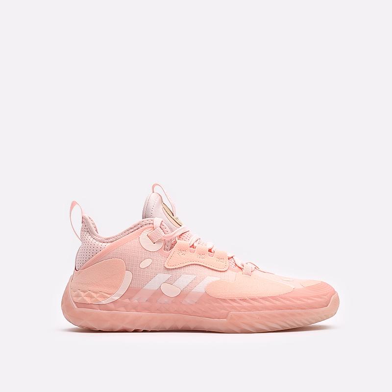 розовые  кроссовки adidas harden vol.5 futurenatural FZ0834 - цена, описание, фото 1