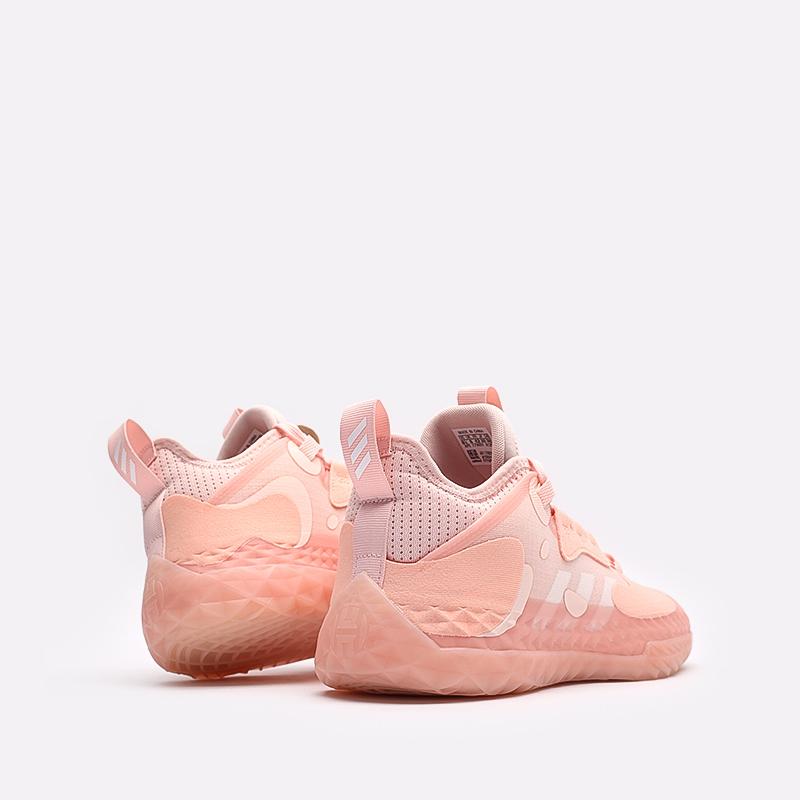 розовые  кроссовки adidas harden vol.5 futurenatural FZ0834 - цена, описание, фото 3