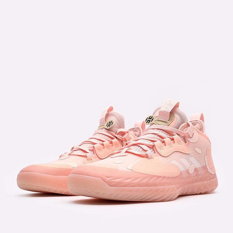 розовые  кроссовки adidas harden vol.5 futurenatural FZ0834 - цена, описание, фото 2