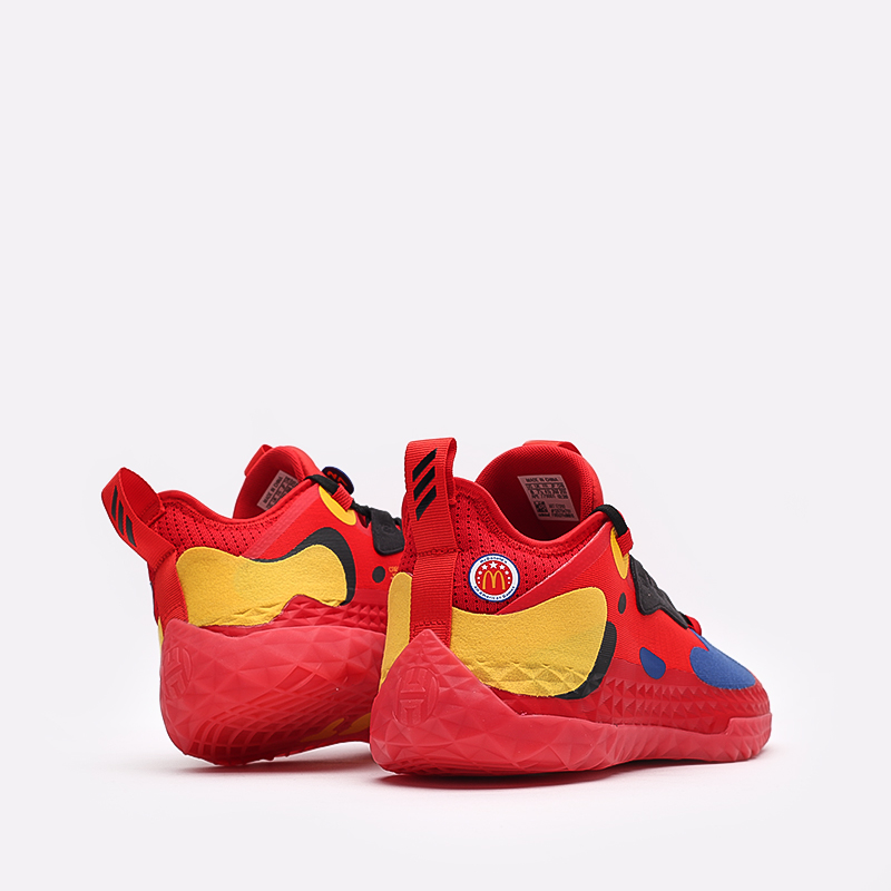 красные  кроссовки adidas harden vol.5 futurenatural FZ1292 - цена, описание, фото 3