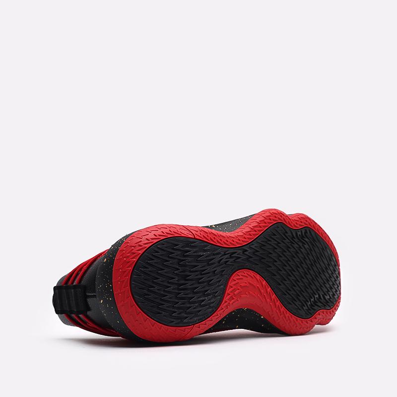 красные, чёрные  кроссовки adidas dame 7 gca FY3442 - цена, описание, фото 4