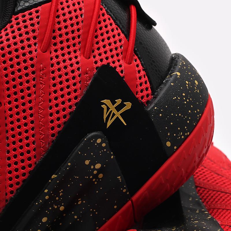 красные, чёрные  кроссовки adidas dame 7 gca FY3442 - цена, описание, фото 7