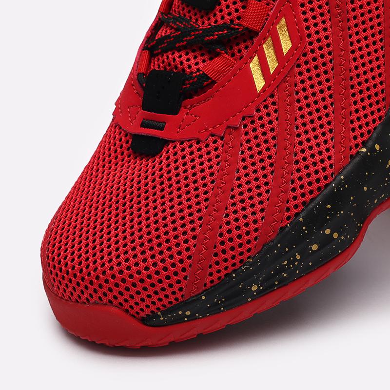 красные, чёрные  кроссовки adidas dame 7 gca FY3442 - цена, описание, фото 6