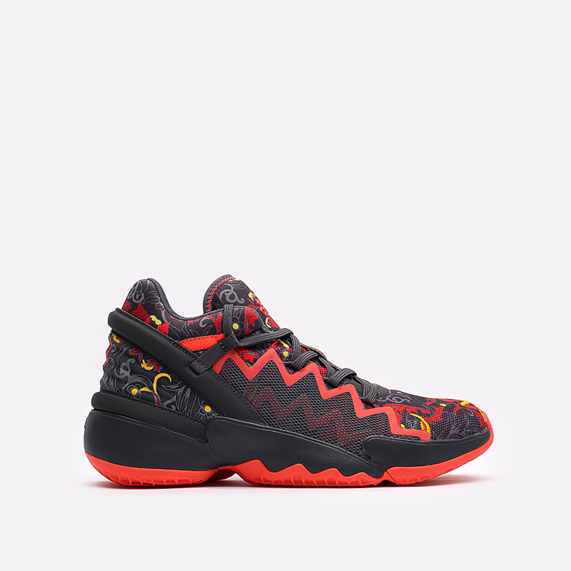 серые  кроссовки adidas d.o.n. issue 2 gca FX7432 - цена, описание, фото 1