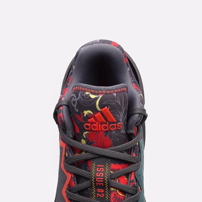серые  кроссовки adidas d.o.n. issue 2 gca FX7432 - цена, описание, фото 7