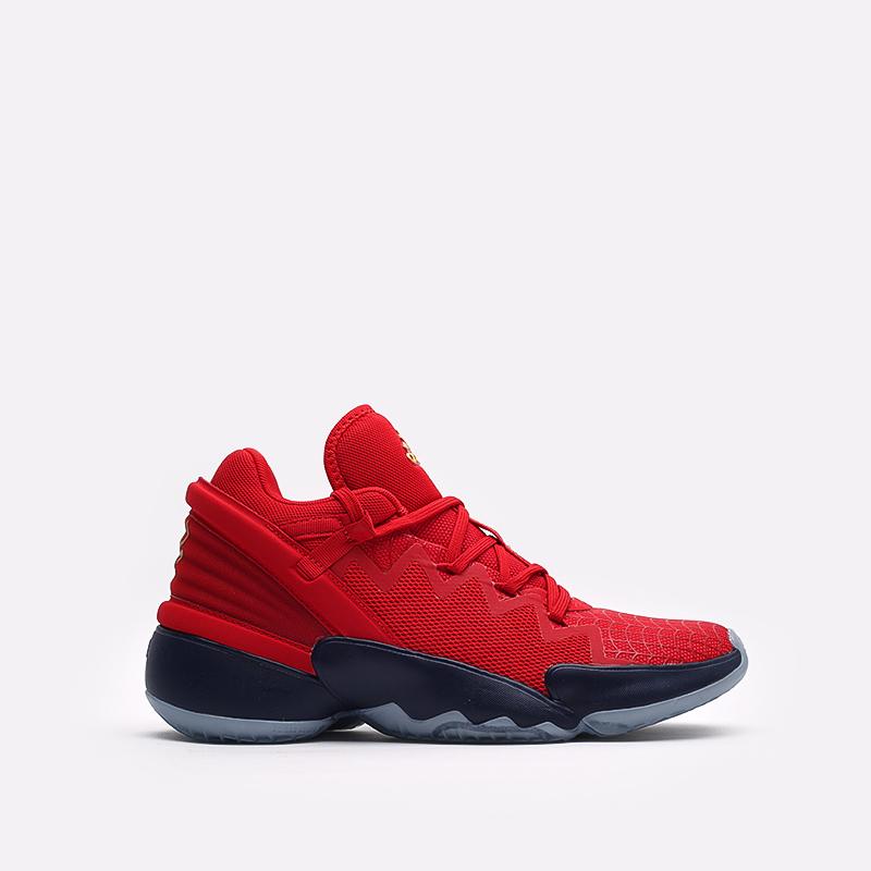 красные  кроссовки adidas d.o.n. issue 2 FX6519 - цена, описание, фото 1