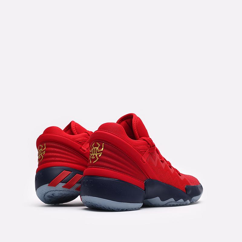 красные  кроссовки adidas d.o.n. issue 2 FX6519 - цена, описание, фото 4