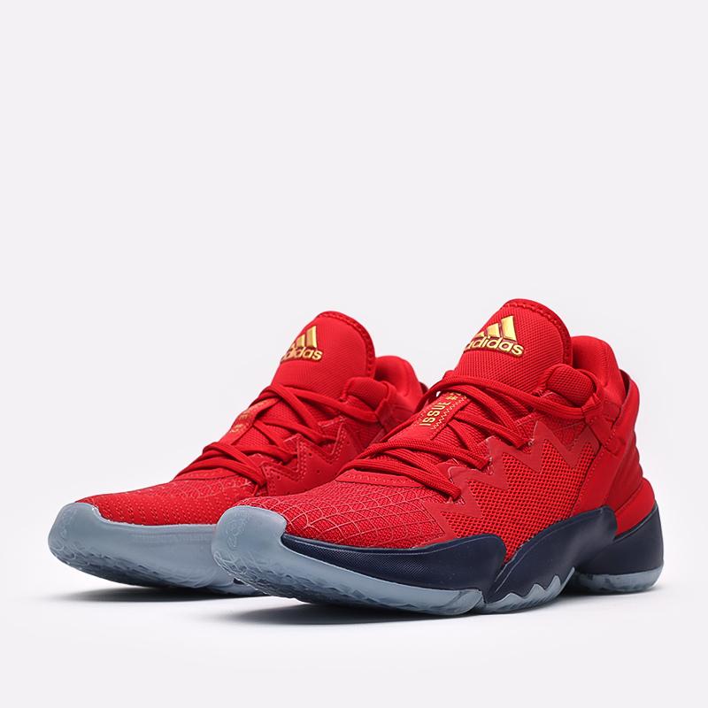 красные  кроссовки adidas d.o.n. issue 2 FX6519 - цена, описание, фото 2