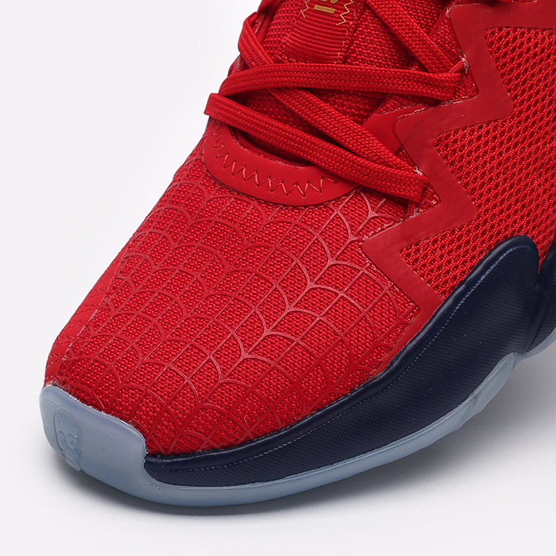 красные  кроссовки adidas d.o.n. issue 2 FX6519 - цена, описание, фото 6
