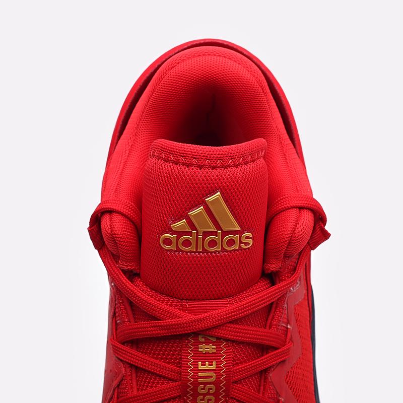 красные  кроссовки adidas d.o.n. issue 2 FX6519 - цена, описание, фото 7
