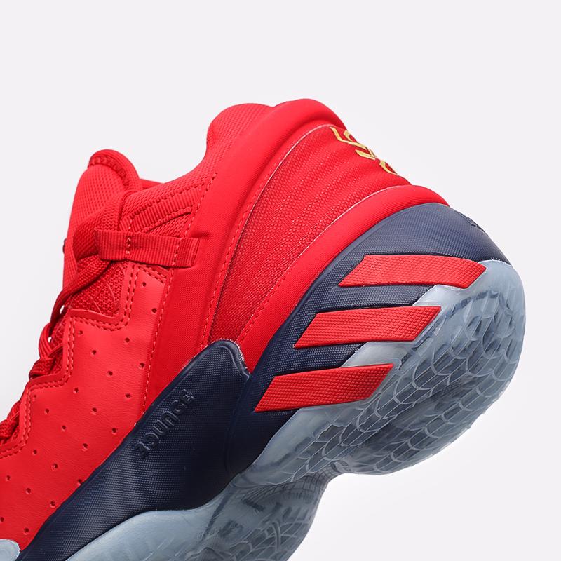 красные  кроссовки adidas d.o.n. issue 2 FX6519 - цена, описание, фото 5