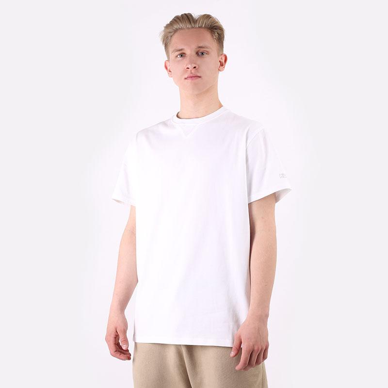 мужскую белую  футболка converse x kim jones 10021732102 - цена, описание, фото 1