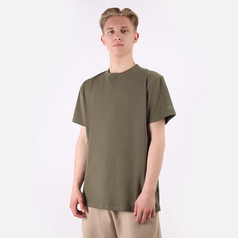 мужская зеленая футболка Converse x Kim Jones 10021732379 - цена, описание, фото 1