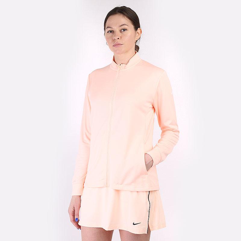 женская оранжевая толстовка Nike Dri-FIT UV Victory Full-Zip Golf Top CU9664-814 - цена, описание, фото 1