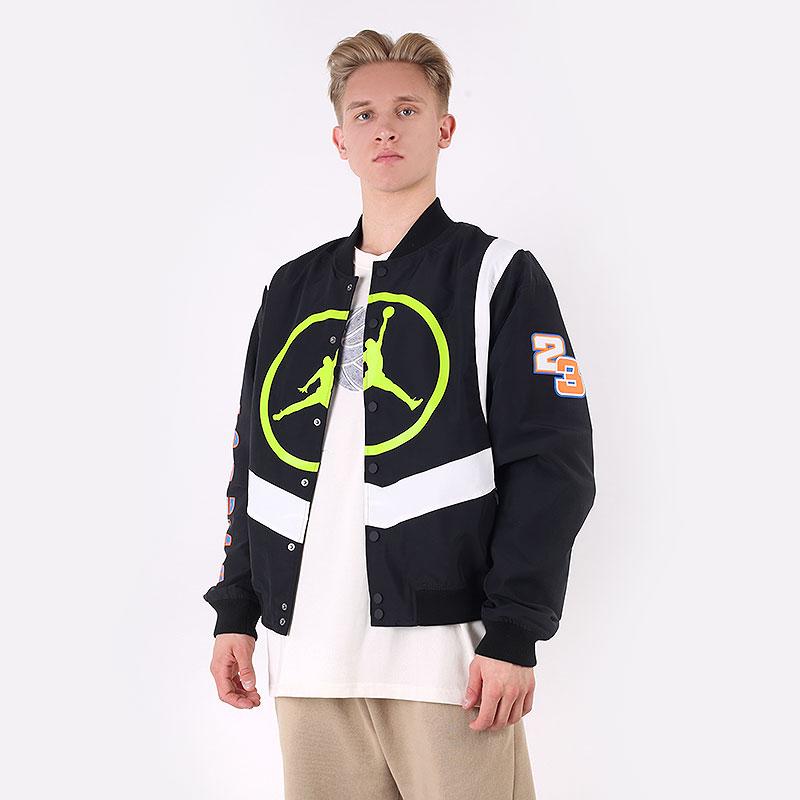 мужскую черную  куртку jordan sport dna jacket CV2773-010 - цена, описание, фото 1