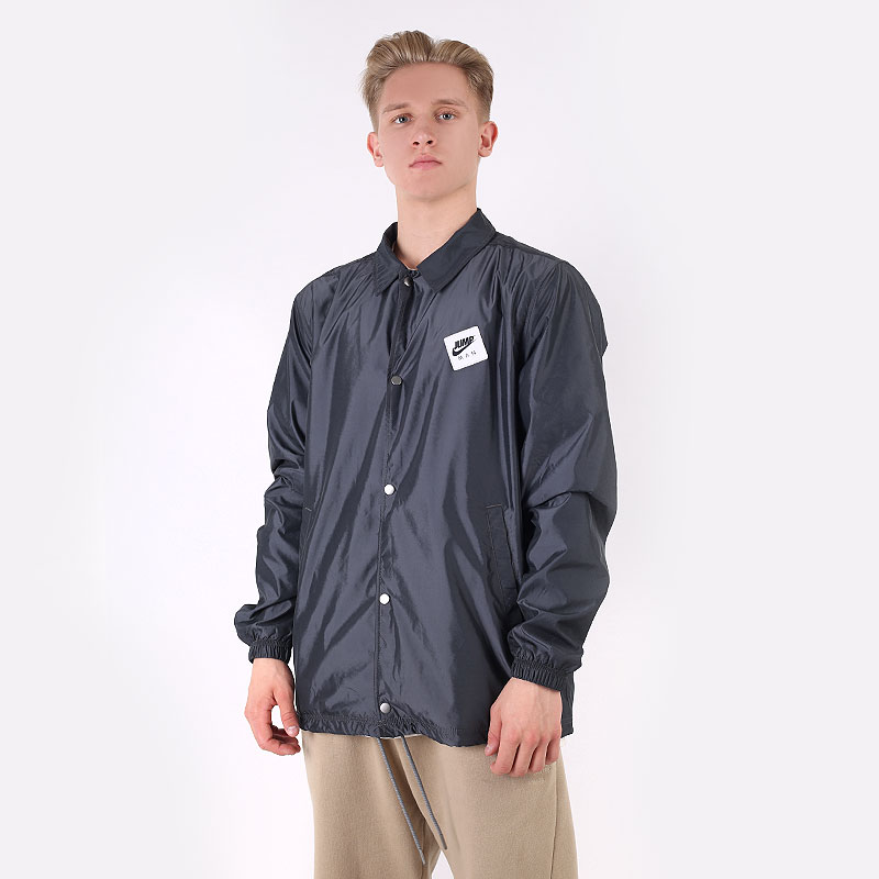 мужскую серую  куртку jordan jumpman classics jacket CZ4824-084 - цена, описание, фото 1