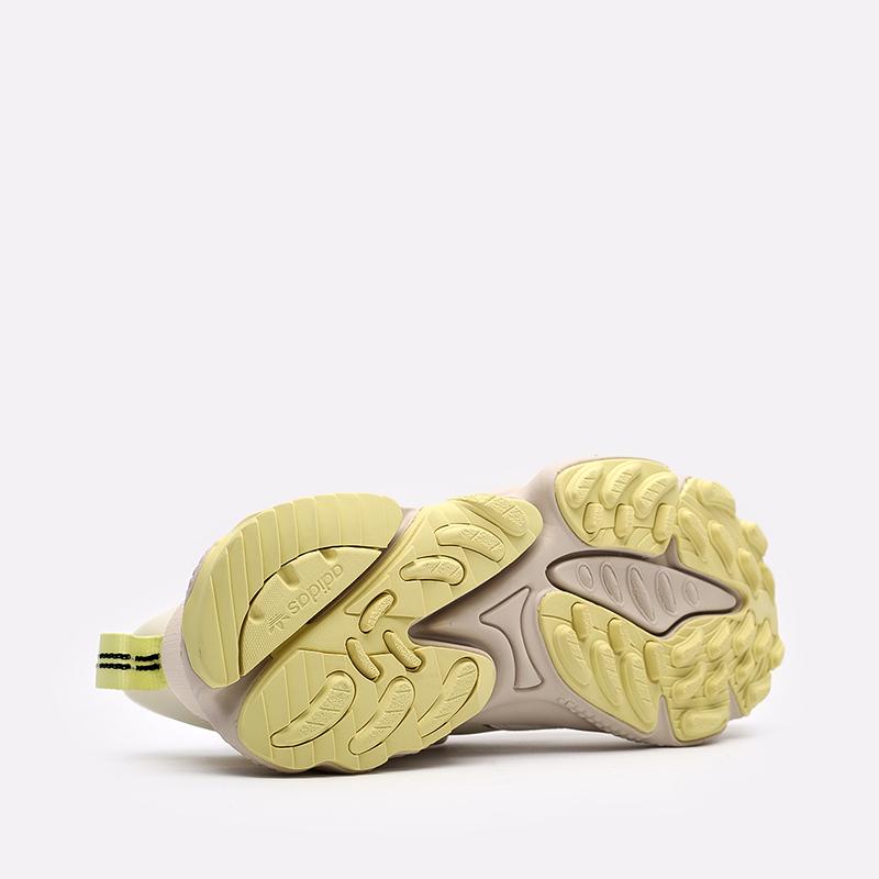 мужские бежевые  кроссовки adidas ozweego flipshield FX6047 - цена, описание, фото 3