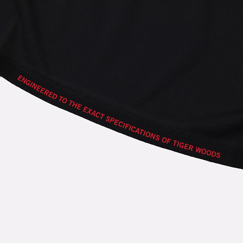 мужскую черную  футболка nike dri-fit tiger woods short-sleeve CU9526-010 - цена, описание, фото 8