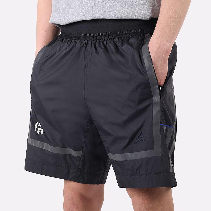 мужские черные  шорты  adidas hrdn nxt short GH6692 - цена, описание, фото 1