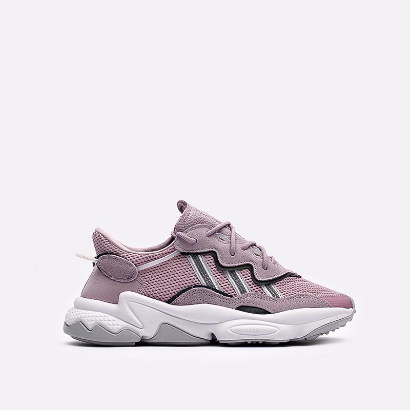мужские фиолетовые  кроссовки adidas ozweego w EG9205 - цена, описание, фото 1