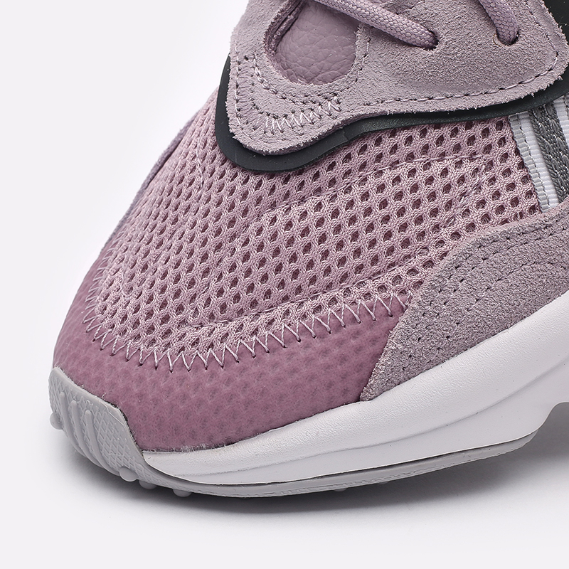 мужские фиолетовые  кроссовки adidas ozweego w EG9205 - цена, описание, фото 5