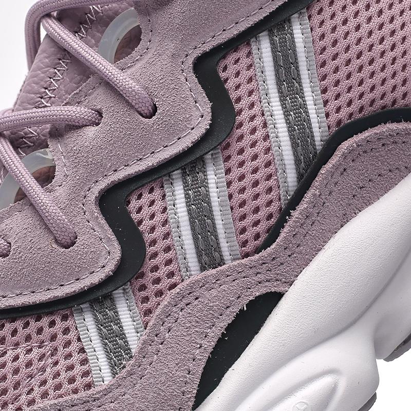 мужские фиолетовые  кроссовки adidas ozweego w EG9205 - цена, описание, фото 6