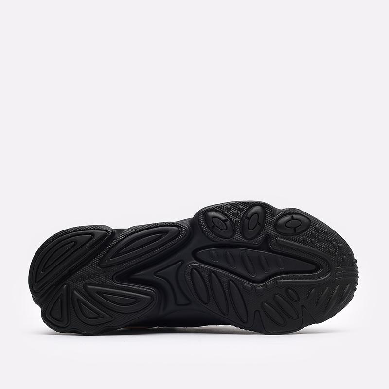 мужские чёрные  кроссовки adidas ozweego FX6028 - цена, описание, фото 4