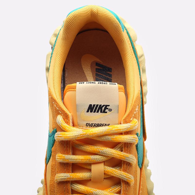 оранжевые  кроссовки nike overbreak sp DA9784-201 - цена, описание, фото 5