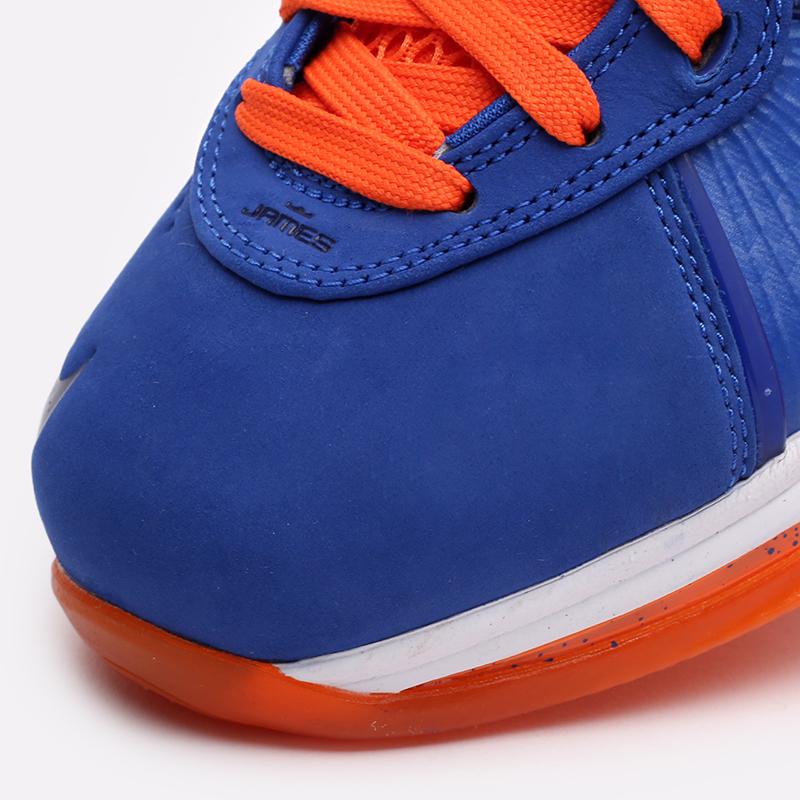 мужские синие, оранжевые  кроссовки nike lebron viii qs CV1750-400 - цена, описание, фото 8