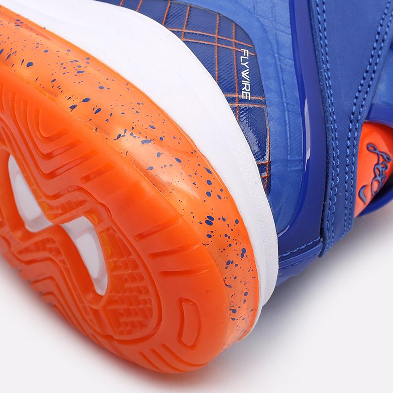 мужские синие, оранжевые  кроссовки nike lebron viii qs CV1750-400 - цена, описание, фото 6