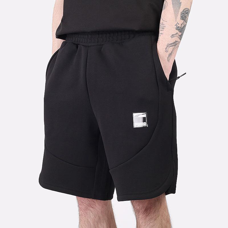 мужские черные шорты  PUMA Dime Short 53055001 - цена, описание, фото 1