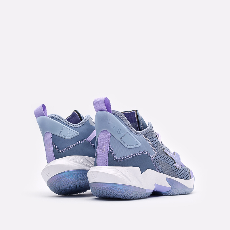 женские синие  кроссовки jordan why not zero.4 (gs) CQ9430-400 - цена, описание, фото 3