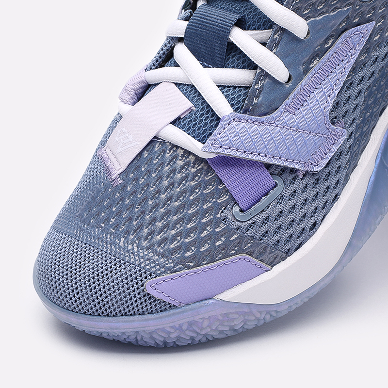 женские синие  кроссовки jordan why not zero.4 (gs) CQ9430-400 - цена, описание, фото 6